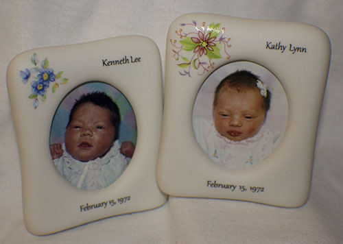 lPersonalized Porcelain Frame Baby